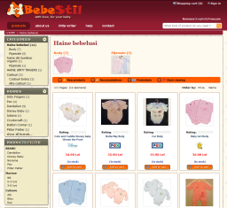 Virtual store Bebestil.ro
